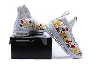 """Баскетбольные кроссовки Nikе LeBron XV (15) """"Floral"""" Zipper (40-46), фото 6"""