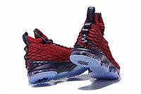 "Баскетбольные кроссовки Nike LeBron XV (15) ""Vine Red/Deep Purple"" (40-46), фото 5"