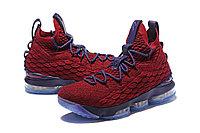 "Баскетбольные кроссовки Nike LeBron XV (15) ""Vine Red/Deep Purple"" (40-46), фото 6"