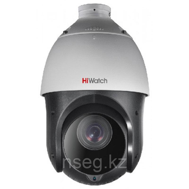 HiWatch DS-T265 2Мп уличная скоростная поворотная HD-TVI камера с ИК прожектором - дальность подсветки 100м