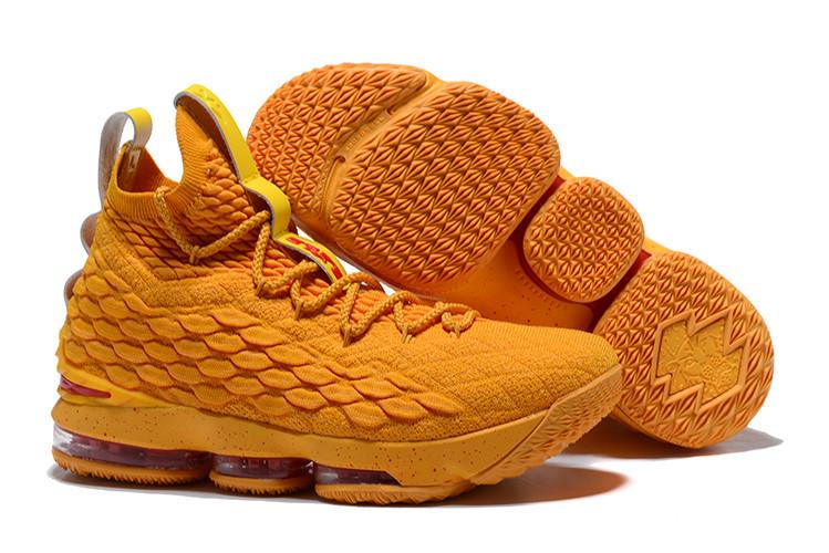 """Баскетбольные кроссовки Nike LeBron XV (15) """"Cavs"""" (40-46)"""