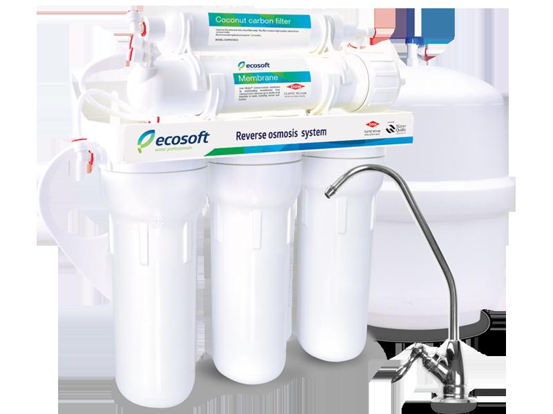 Фильтр обратного осмоса ecosoft 5-50