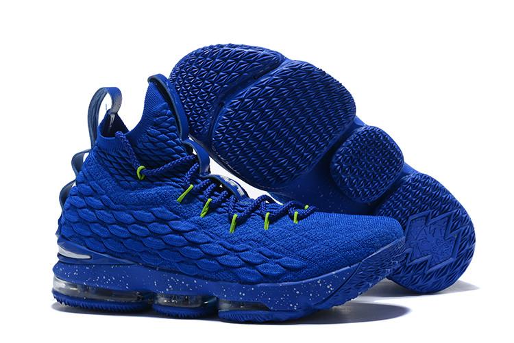 "Баскетбольные кроссовки Nike LeBron XV (15) ""Blue/Green"" (40-46)"