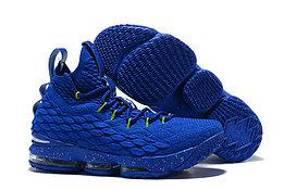 """Баскетбольные кроссовки Nikе LeBron XV (15) """"Blue/Green"""" (40-46)"""