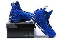 "Баскетбольные кроссовки Nike LeBron XV (15) ""Blue/Green"" (40-46), фото 6"