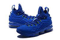"Баскетбольные кроссовки Nike LeBron XV (15) ""Blue/Green"" (40-46), фото 4"