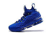 "Баскетбольные кроссовки Nike LeBron XV (15) ""Blue/Green"" (40-46), фото 5"