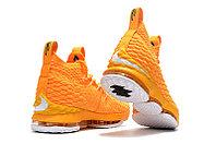 """Баскетбольные кроссовки Nikе LeBron XV (15) """"Yellow/White"""" (40-46), фото 6"""