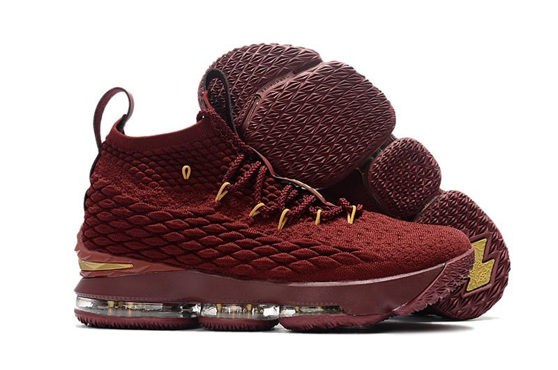 "Баскетбольные кроссовки Nike LeBron XV (15) ""Cavaliers"" (40-46)"
