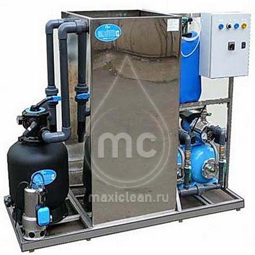 Система очистки воды для автомоек АРОС-2.1 ДК inox