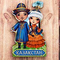 """Магнит деревянный """"Казахстан"""""""