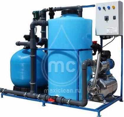 Система очистки воды для автомоек АРОС-4 ДК
