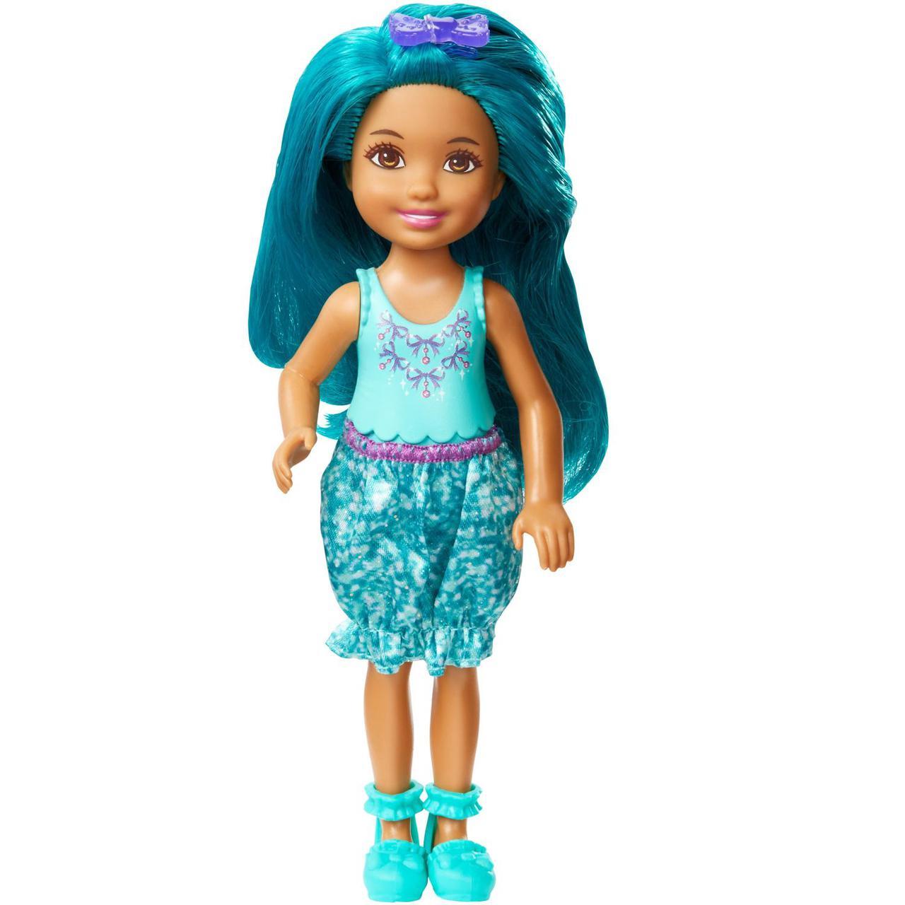 "Barbie ""Дримтопиа"" Кукла Барби Малышка, Зеленая"