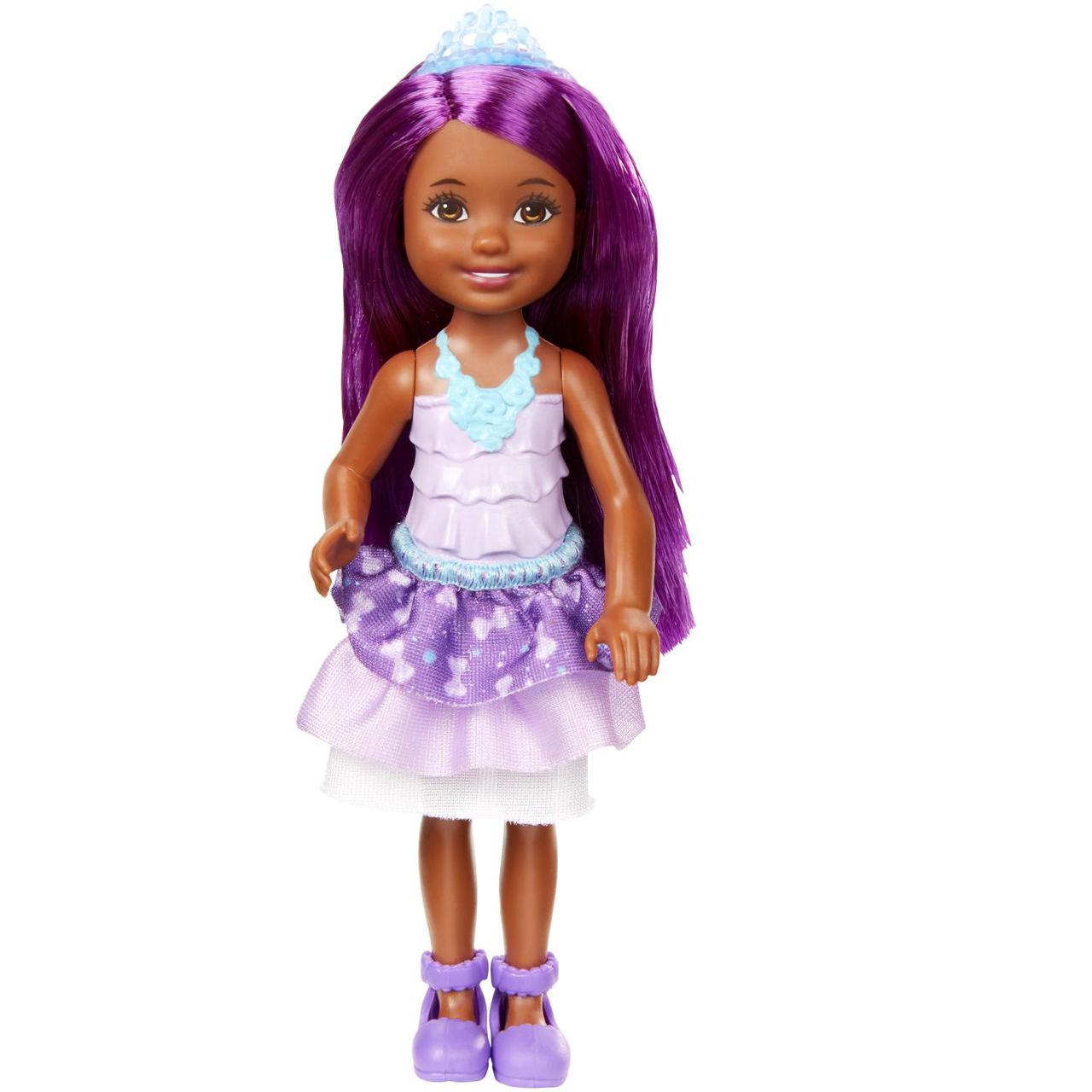 "Barbie ""Дримтопиа"" Кукла Барби Малышка, Фиолетовая"