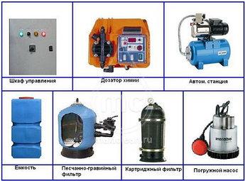 Система очистки воды для автомоек АРОС-5 ДК
