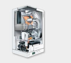 Настенный газовый конденсационный котел Viessmann VITODENS 100-W, (без дымохода), 26 кВт