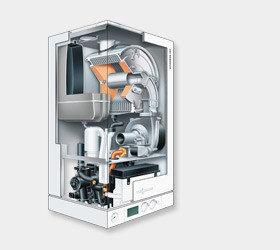 Настенный газовый конденсационный котел Viessmann VITODENS 100-W, (без дымохода), 26 кВт, фото 2