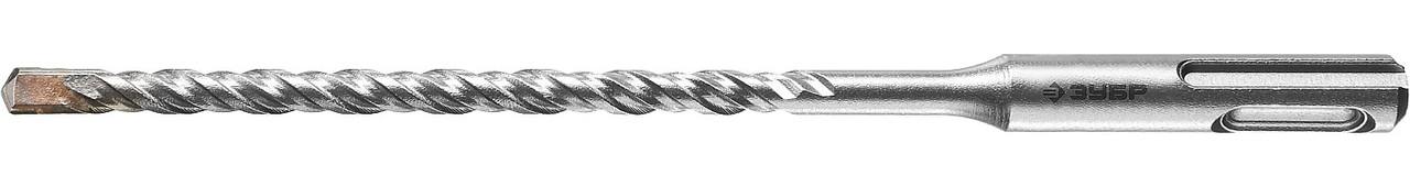 """(29315-160-06) Бур ЗУБР """"МАСТЕР"""" по бетону, хвостовик """"SDS-Plus"""", заточенный резец, спиральS4, 6х160"""
