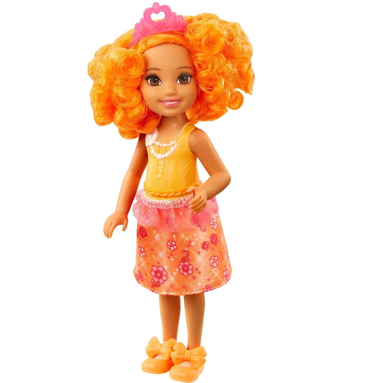 "Barbie ""Дримтопиа"" Кукла Барби Малышка, Оранжевая"