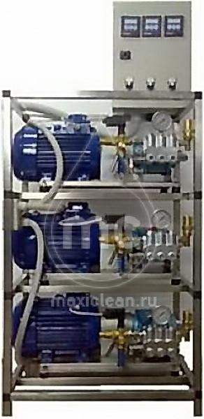 АВТОМОЕЧНЫЙ КОМПЛЕКС МС-3/250 (TotalStop) с насосами HAWK NMT1520R (ИТАЛИЯ)