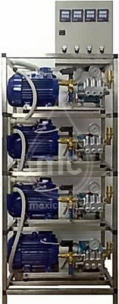 Автомоечный комплекс мс-4/250 (totalstop) с насосами hawk nmt1520r (Италия)