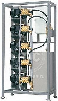 Автомоечный комплекс МС-5/250 (TOTALSTOP) с насосами HAWK NMT1520R (ИТАЛИЯ)