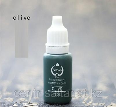 Пигмент Bio Touch Oliva для тату, татуажа (перманентного макияжа)