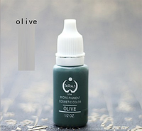 Пигмент Bio Touch Oliva для тату, татуажа (перманентного макияжа), фото 1