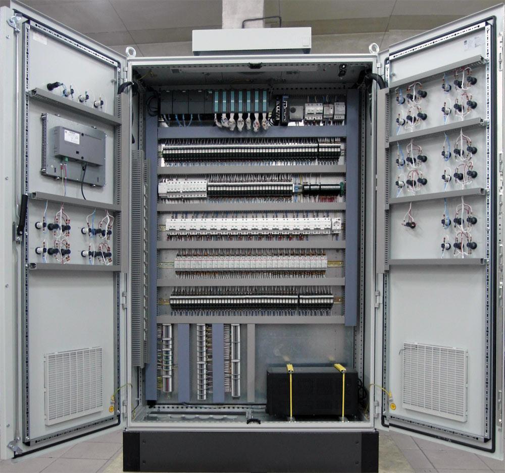 Промышленных шкаф автоматики