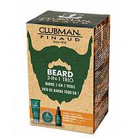 Clubman Набор 3 в 1 (Кондиционер, масло и бальзам для бороды)