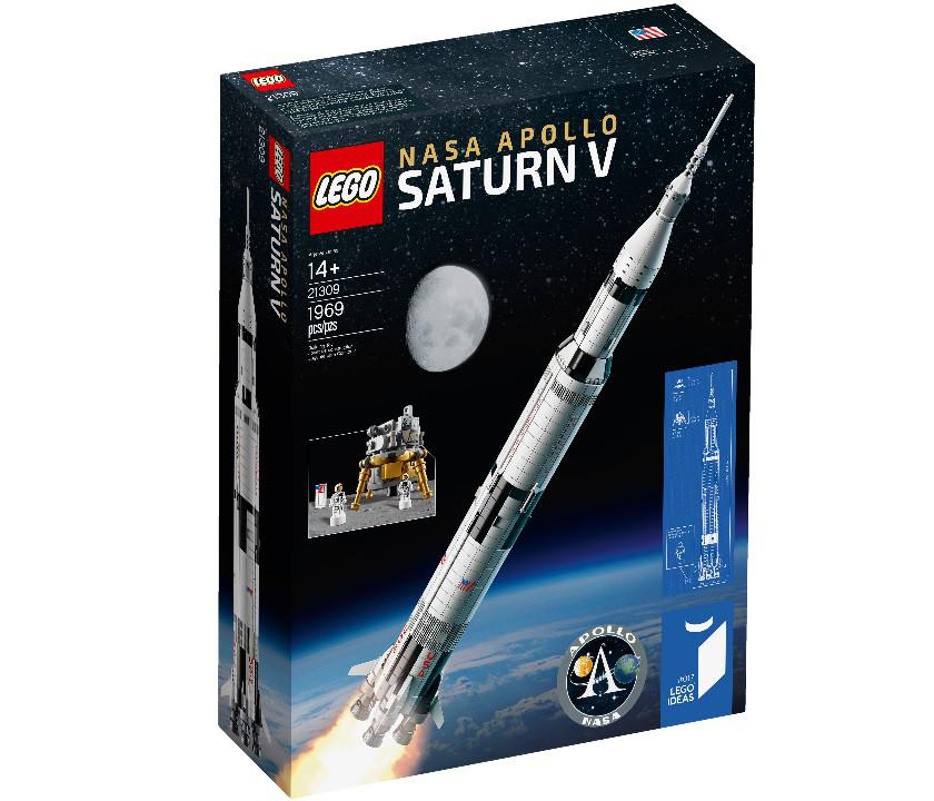 21309 Lego Ideas НАСА Аполлон Ракета-носитель Сатурн-5