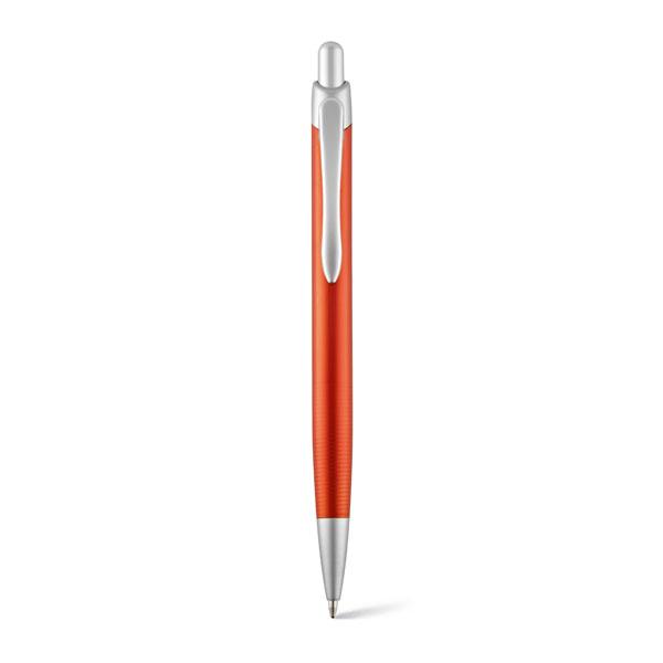 Шариковая ручка Lyro алюминь. оранжевый