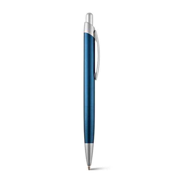 Шариковая ручка Lyro алюминь. синий