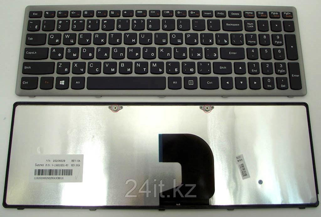 Клавиатура для ноутбука Lenovo IdeaPad Z500, RU, черная