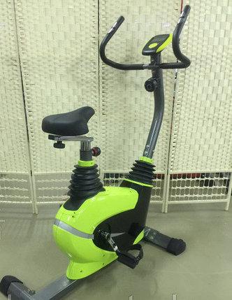Велотренажер SPIN BIKE 502B (зеленый)  для простаты, фото 2