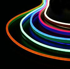 Гибкий неон MINI (FLEX NEON) светодиодный, белый, теплый, красный, зеленый, желтый, синий, розовый