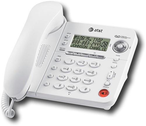 Стационарный проводной телефон  из Америки AT&T 1856 (определитель номера,автоответчик)