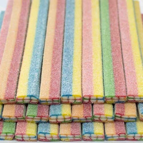 """Жев.мармелад """"Джумбос Блоки гигантские разноцветные в сахаре"""" 1,85кг 30шт /FINI Испания/"""