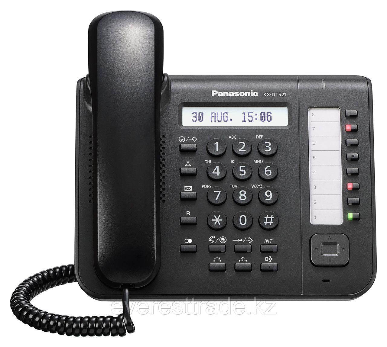 Телефон системный Panasonic KX-DT521