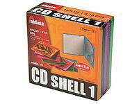 Бокс для CD/DVD пластиковый цветной