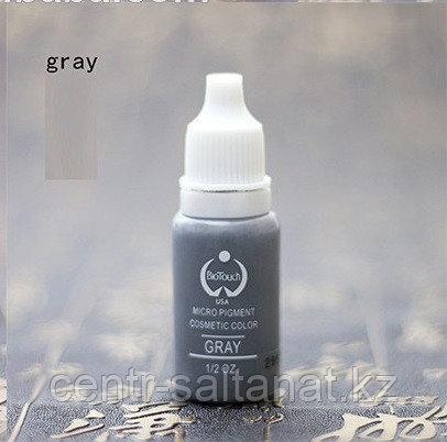 """Пигмент """"Bio Touch"""" Gray для перманентного макияжа"""