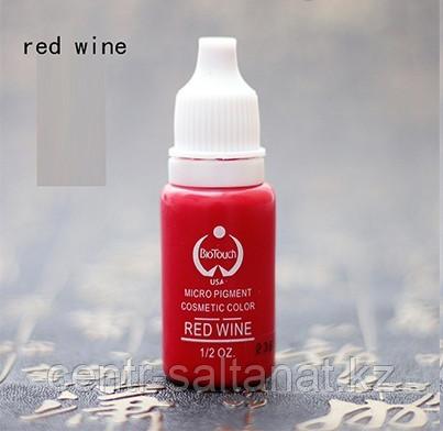 Пигмент Bio Touch Red Wine для тату, татуажа (перманентного макияжа)