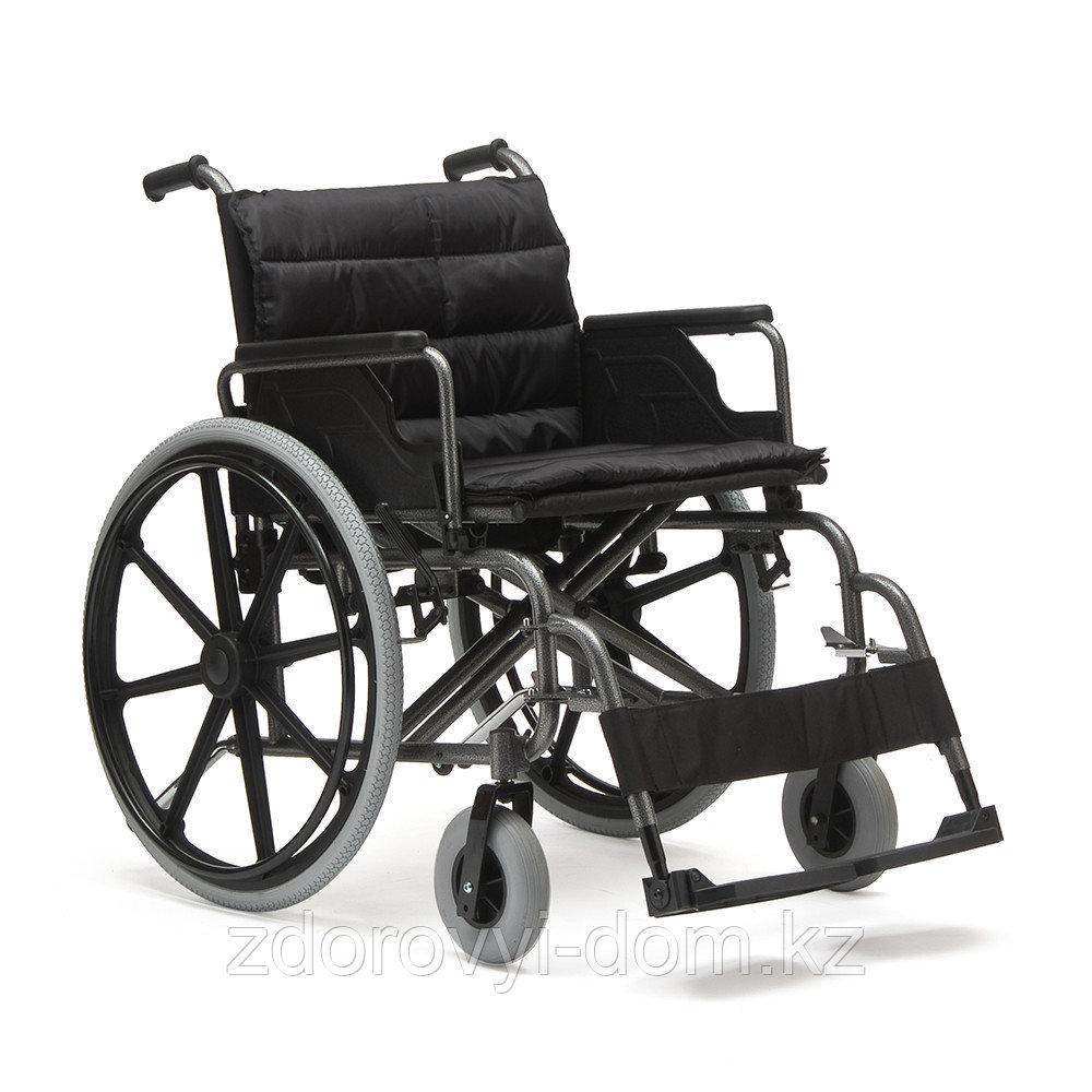 Кресло-коляска для инвалидов с повышенной грузоподьемностью