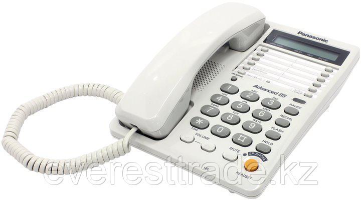 Телефон проводной Panasonic KX-TS2365 RUW, фото 2