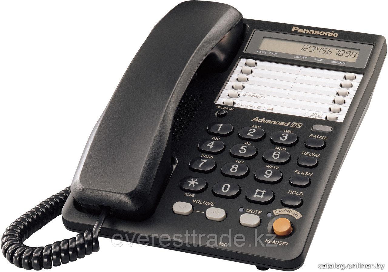 Телефон проводной, Panasonic KX-TS2365 RUB