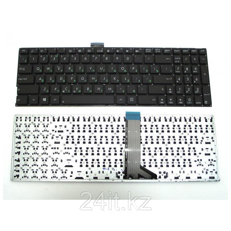 Клавиатура для ноутбука Asus X555, X553, R554L, R556L, X553M, X553MA, X553S, X553SA, X554L, Черная без рамки