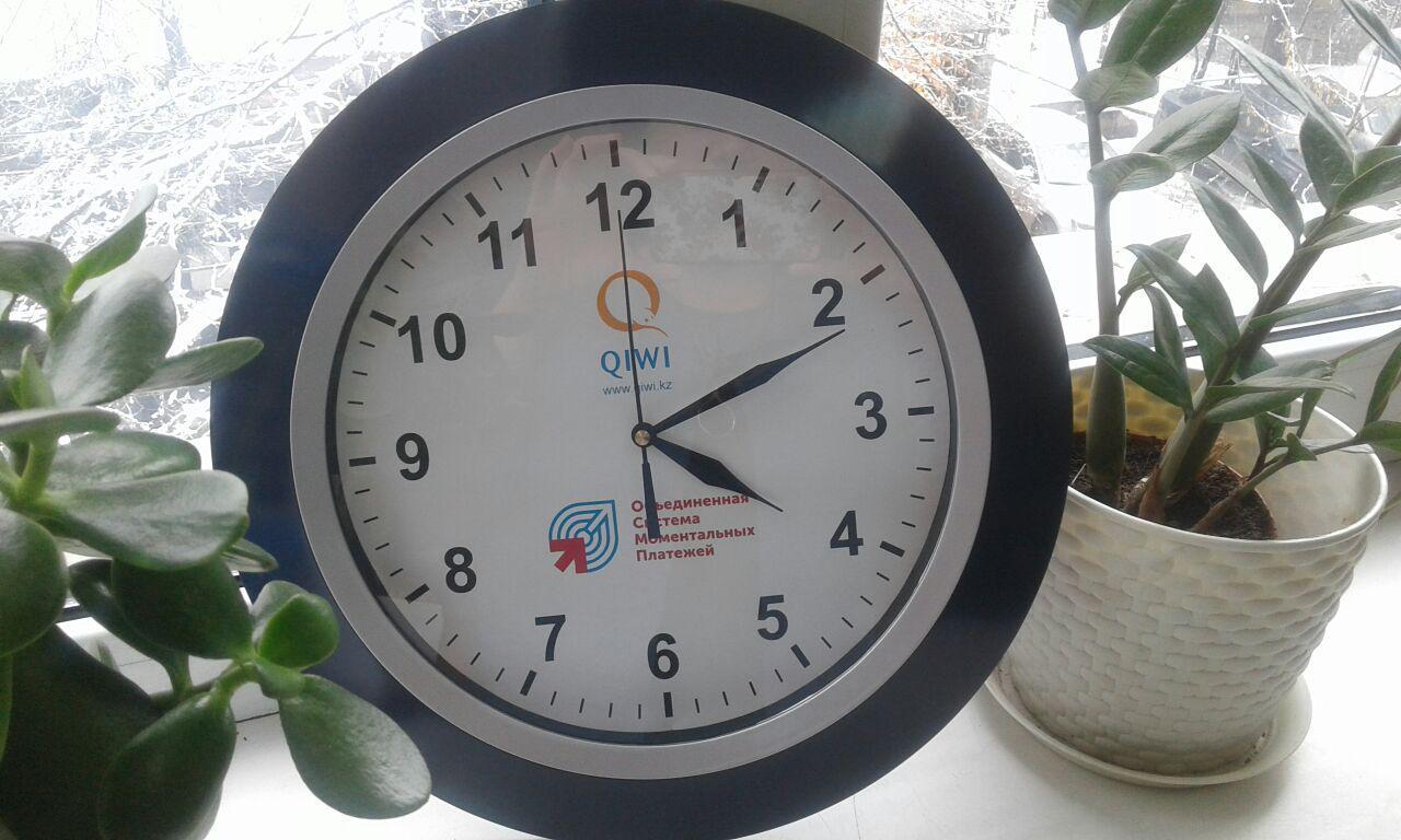 Брендированные часы по индивидуальному заказу