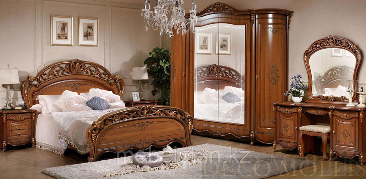 АЛЛЕГРО спальный гарнитур, 6Д орех
