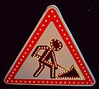 Светодиодные активные импульсные дорожные знаки, фото 2