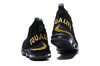 """Баскетбольные кроссовки Nikе LeBron XV (15) """"EQUALITY"""" Black (40-46), фото 5"""